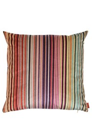 Missoni Reno Striped Velvet Pillow