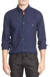 Men's 7 For All Mankind Trim Fit Long Sleeve Oxford Sport Shirt
