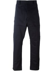 Oamc Pocket Detail Trousers Blue