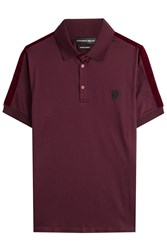 Alexander Mcqueen Cotton Polo Shirt Red