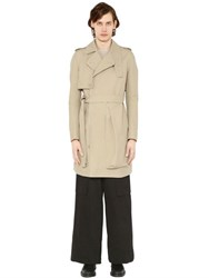 Rick Owens Techno Cotton Trench Coat