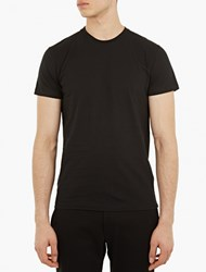 Jil Sander Black Cotton T Shirt