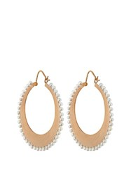 Irene Neuwirth Akoya Pearl And Yellow Gold Earrings Rose Gold