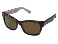 Kate Spade Alora P S Havana Brown Polarized Fashion Sunglasses