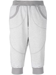 Adidas By Stella Mccartney 'Essentials' Three Quarter Sweat Pants Grey