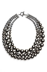 Women's St. John Collection Multi Strand Faux Pearl Necklace