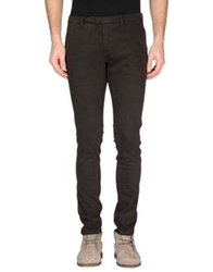 Paolo Pecora Casual Pants Dark Brown