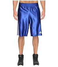 Adidas Basic Shorts 4 Collegiate Royal White Men's Shorts Blue