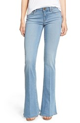 Women's Paige Denim 'Bell Canyon' High Rise Flare Jeans Quill