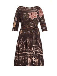 By Walid Alice Vintage Silk Dress