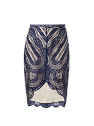 Lover Venus French Lace Pencil Skirt
