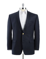Lauren Ralph Lauren Gold Button Navy Blazer