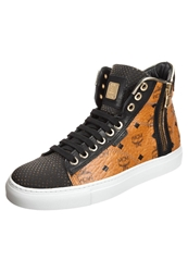 Michalsky Urban Nomad 3 Hightop Trainers Cognac