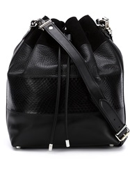 Proenza Schouler Drawstring Bucket Bag Black