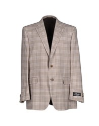 Belvest Suits And Jackets Blazers Men Cocoa