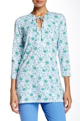 J. Mclaughlin Bungalow Tunic Blue