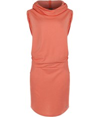 Bench Offsetta Hooded Dress Coral