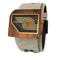 Mistura Unisex Wooden Pellicano Watch Hollister Nazca Dark