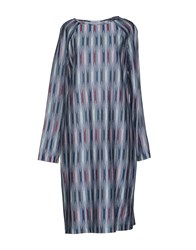 Ailanto Dresses Knee Length Dresses Women Slate Blue