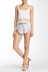 Indah Butterfly Short Gray