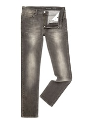 Religion Noize Slim Fit Light Grey Jeans Grey Denim