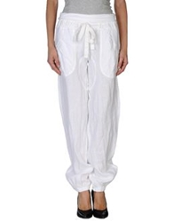 Compagnia Italiana Casual Pants White