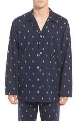 Polo Ralph Lauren Men's 'Polo Player' Embroidered Pajama Top Navy