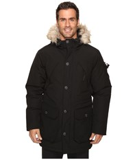 Penfield Hoosac Faux Fur Jacket Black Men's Coat