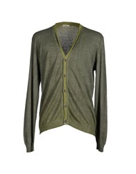 Bellwood Knitwear Cardigans Men Military Green