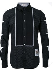 Education From Youngmachines Star Print Shirt Black