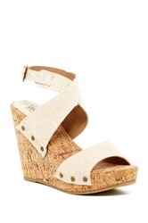 Groove Ariana Wedge Metallic