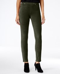 Styleandco. Style Co. Corduroy Leggings Only At Macy's Evening Olive