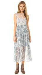 Zimmermann Adorn Lace Dress Floral