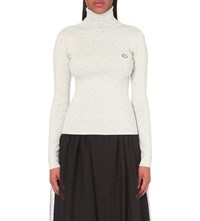 See By Chloe Turtleneck Knitted Jumper Aspen Lightgrey