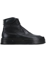 Nil0s Paneled Ankle Boots Black