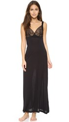 La Perla Myrta Long Nightgown Black