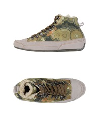 Desigual High Tops And Trainers Light Green
