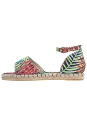 Evenandodd Sandals Navy Multi Multicoloured