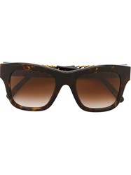 Stella Mccartney 'Falabella' Sunglasses Brown