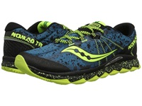 Saucony Nomad Tr Deepwater Citron Men's Running Shoes Blue