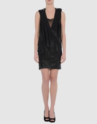Miriam Ocariz Short Dresses Black