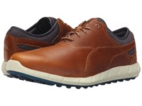 Puma Ignite Golf Chipmunk Peacoat Men's Golf Shoes Brown