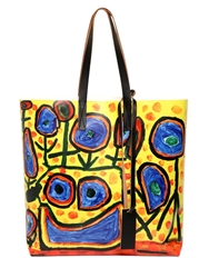 Marni Printed Tote Bag Multi