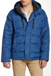 Hawke And Co. Heavy Down Water Resistant Jacket Blue