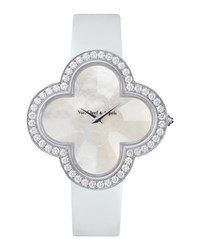 Alhambra Talisman White Gold Watch 40Mm Van Cleef And Arpels White Gold