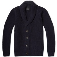 Howlin' Flying Teapot Shawl Cardigan Navy