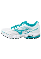 Mizuno Wave Legend 2 Cushioned Running Shoes White Lake Blue Silver