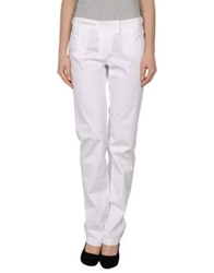 Etiqueta Negra Casual Pants White