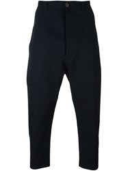 Vivienne Westwood Man Cropped Trousers Blue