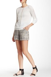 L.A.M.B. Plaid Linen Short Multi